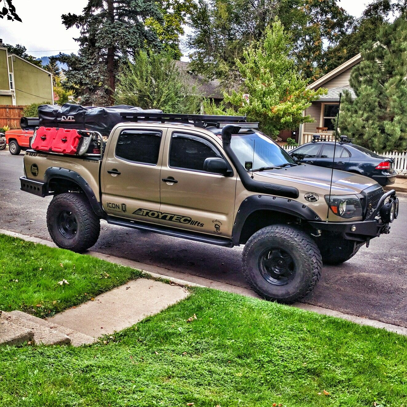 Toyota Truck Aftermarket Parts: I Saw This Great Tacoma Today, They Even Had A High