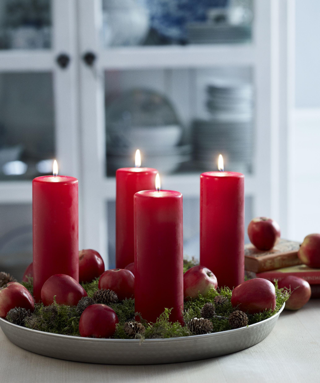 Candles holidays pinterest velas navide as velas y - Velas de adorno ...