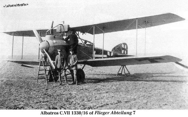 Captured Albatros D Iii In Palestine 1917 Jpg