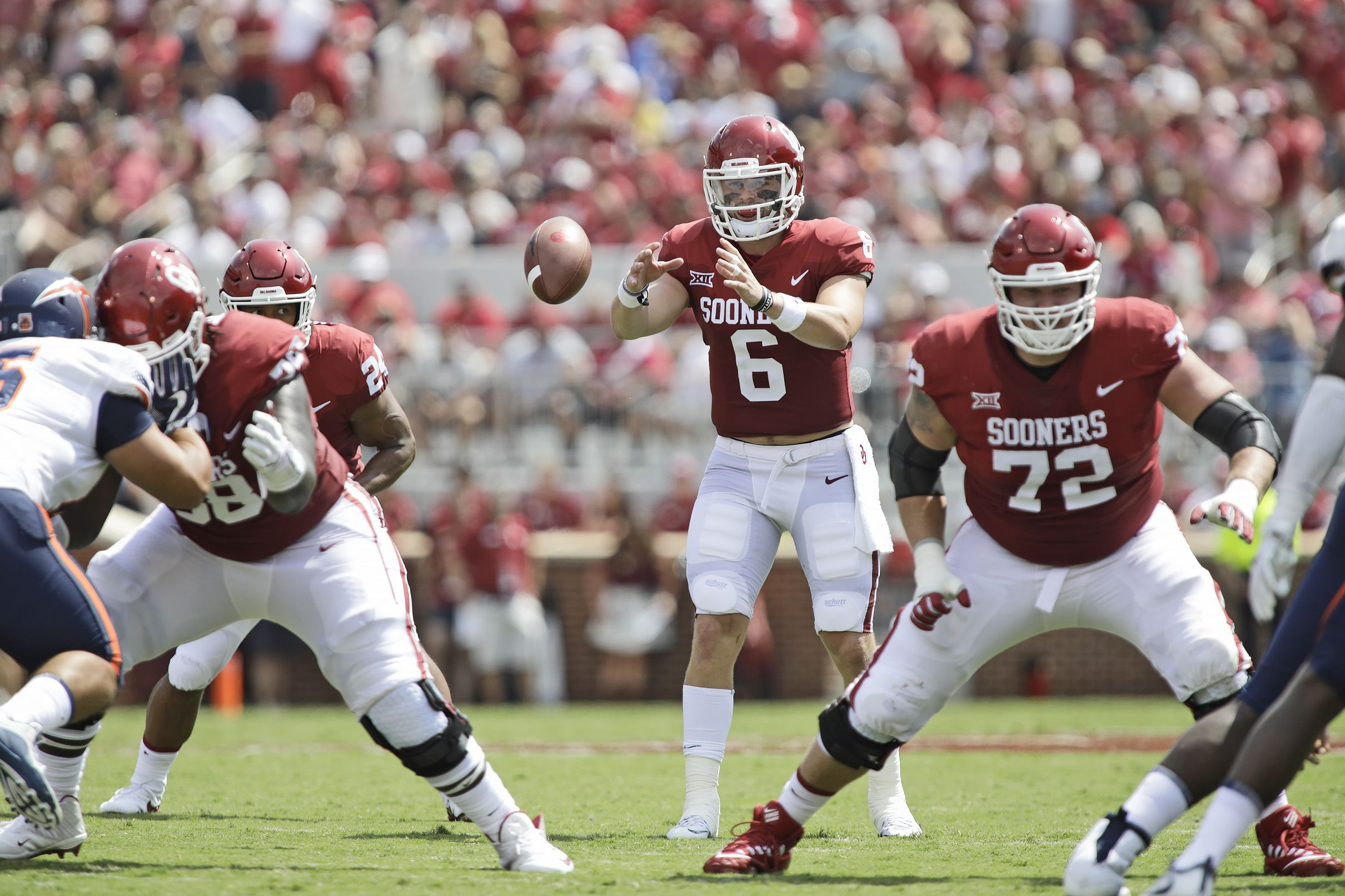 Oklahoma Sooners Football Baker Mayfield is ready for