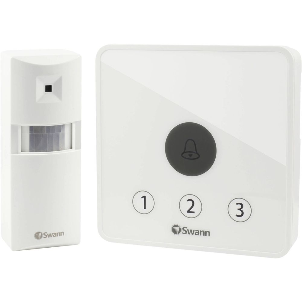 Swann Wireless Home Security System White Security systems and