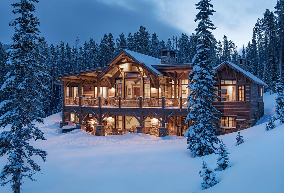Diduch Homestead, Big Sky, Montana Residential architecture