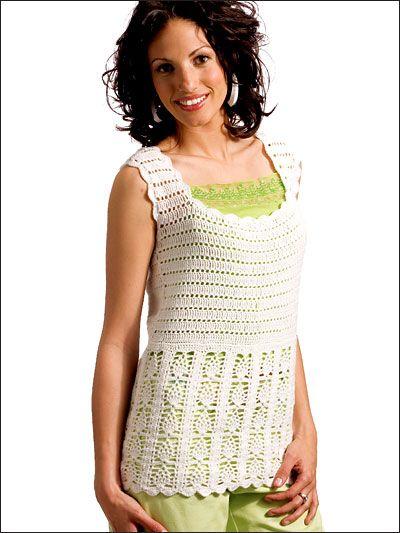 Lets Crochet Summer Tops Patterns Pinterest Shell Website