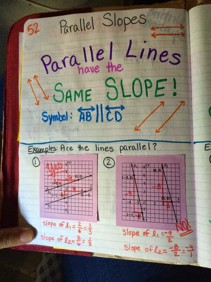Mrs Atwoods Math Class Parallel And Perpendicular Lines
