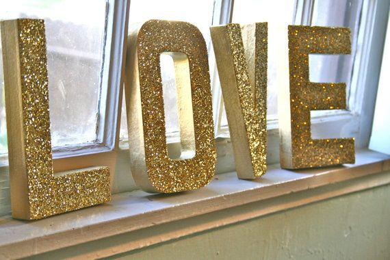 Glittered with love!