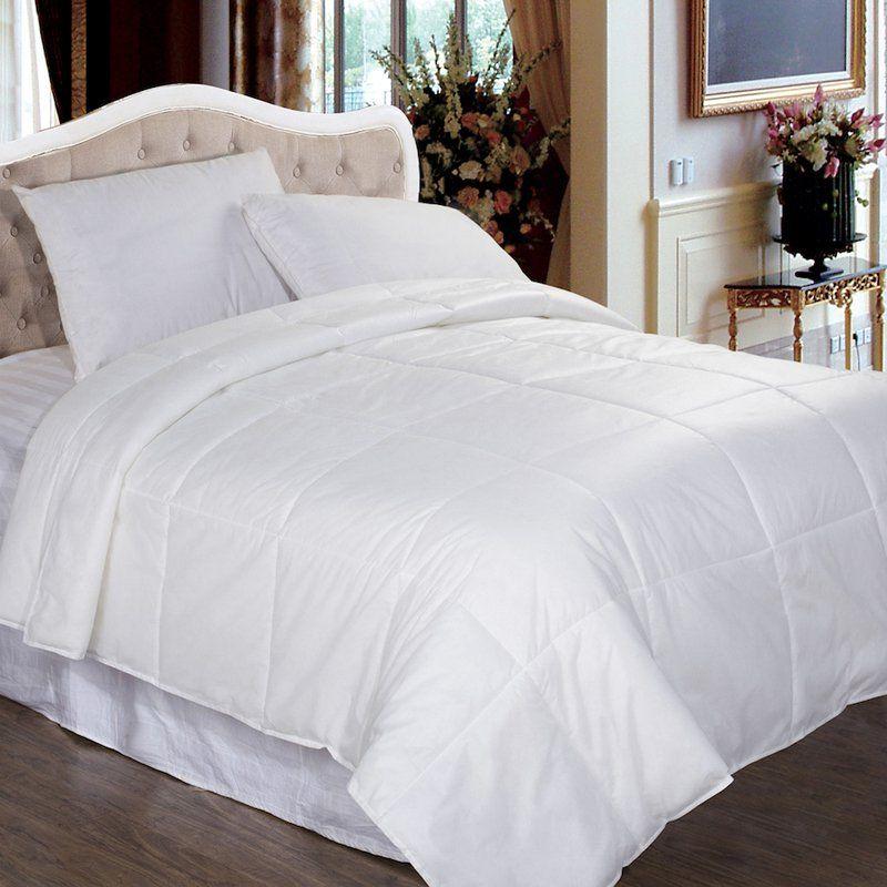 Permafresh Bed Bug & Dust Mite Control Water Resistant Down Alternative Polypropylene Comforter   from hayneedle.com