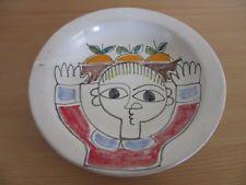 "Mid Century 1965 Modernist Desimone Italy 9.75"" Bowl / Plate"