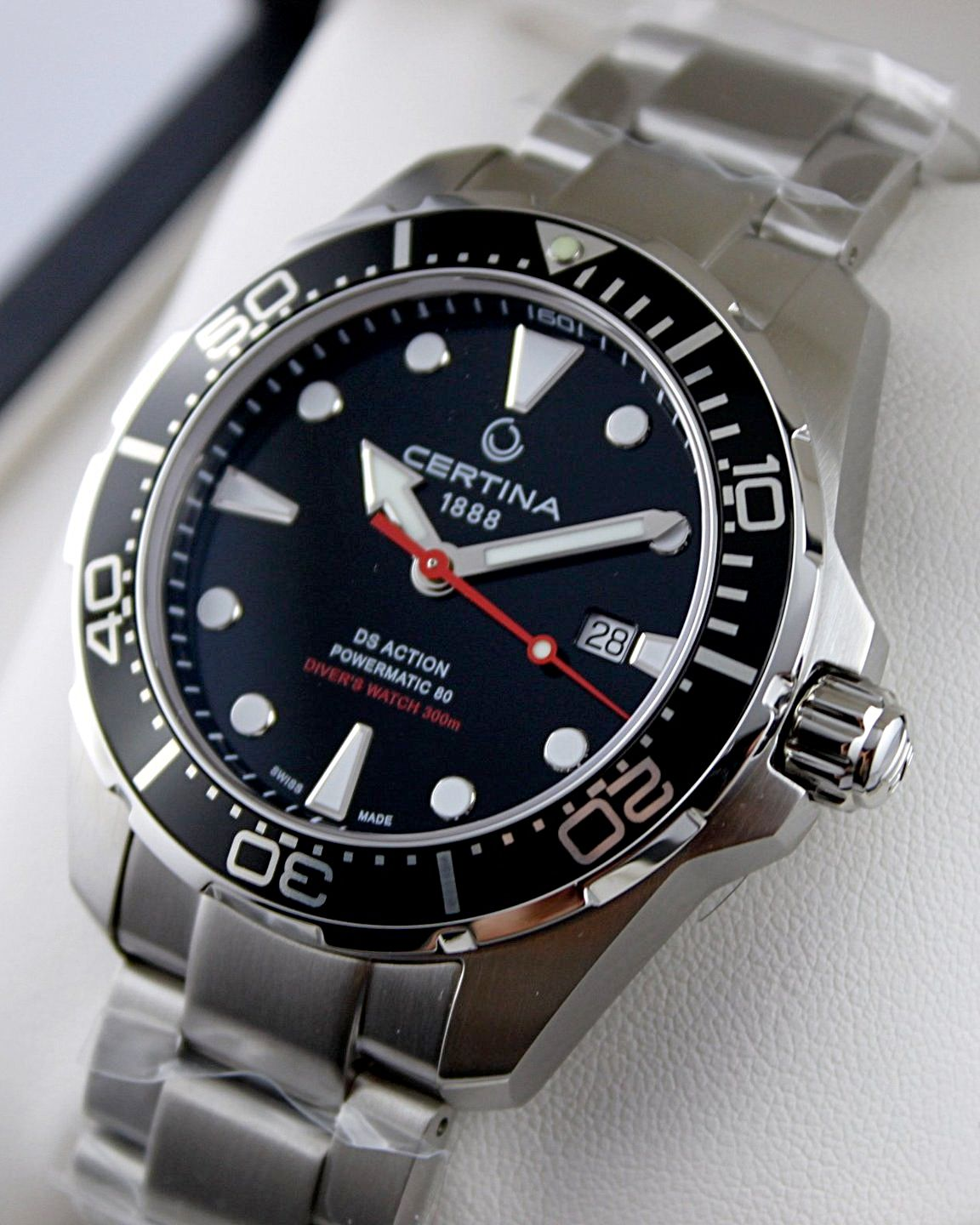 Certina Ds Action Diver Iso 6245 Dive Watch Dive Watches Rolex Watches Watches