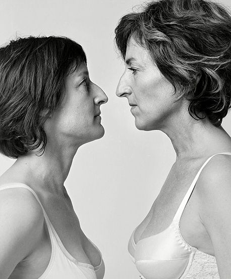 Strangers but similar - Francois Brunelle ,Photographer - Separated at birth