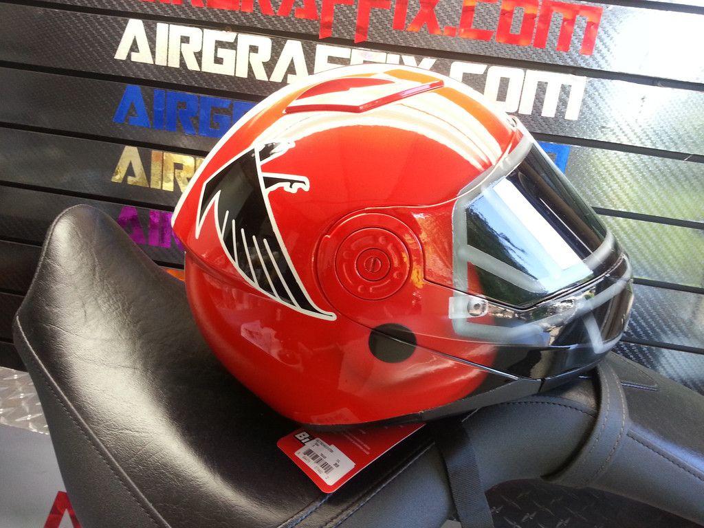 Atlanta Falcons Helmet Atlanta Falcons Helmet Motorcycle Helmets