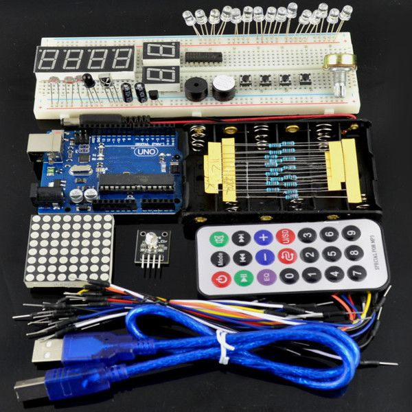 Geekcreit Basic Learning Starter Kits With Uno R3 Geekcreit For