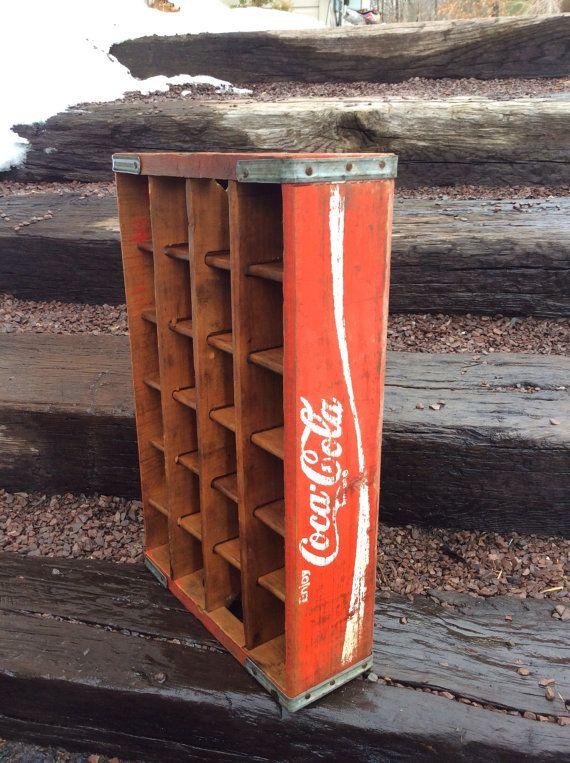 Vintage coca cola crate by SeashoreFinds on Etsy