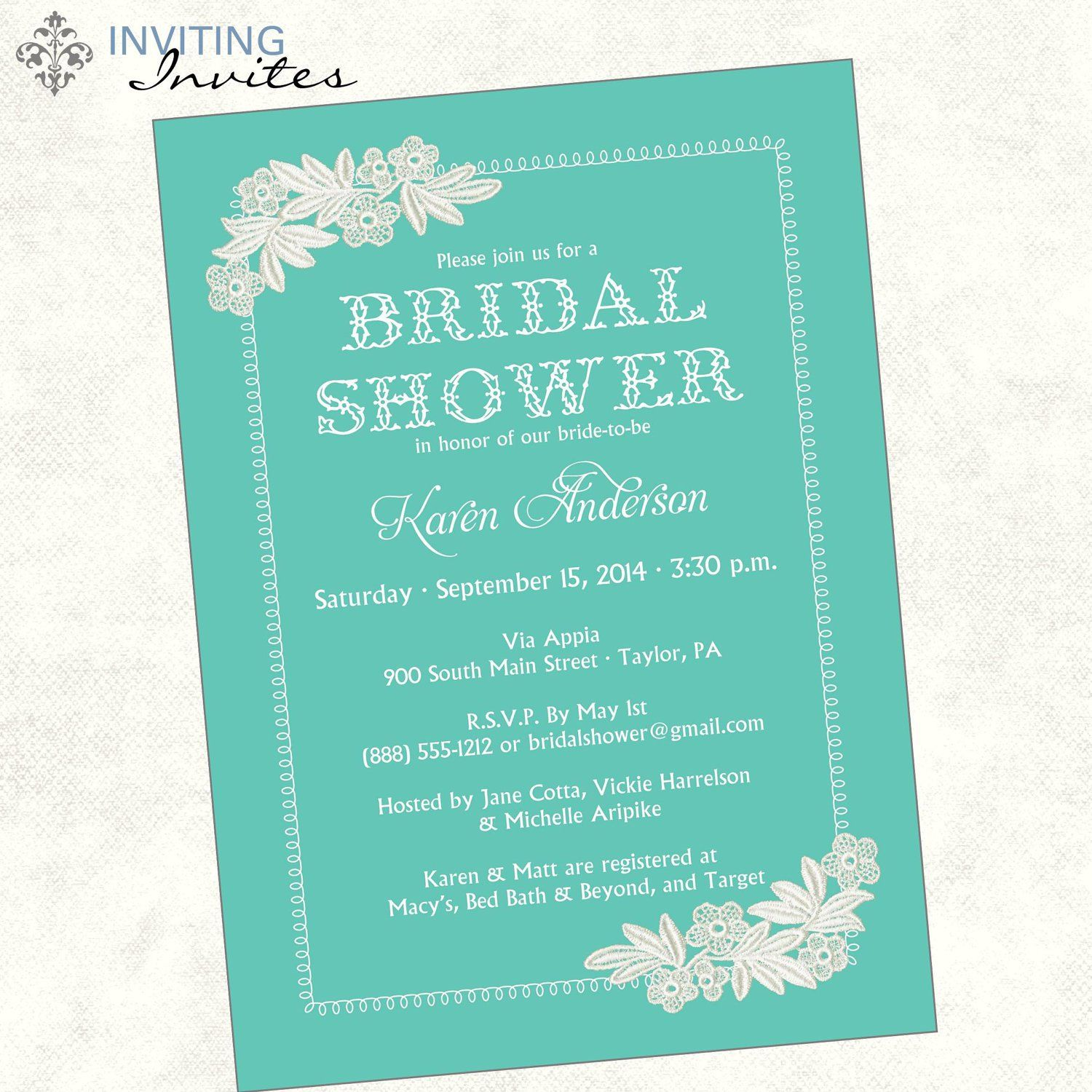 bridal shower sayings - 28 images - bridal shower recipe card ...