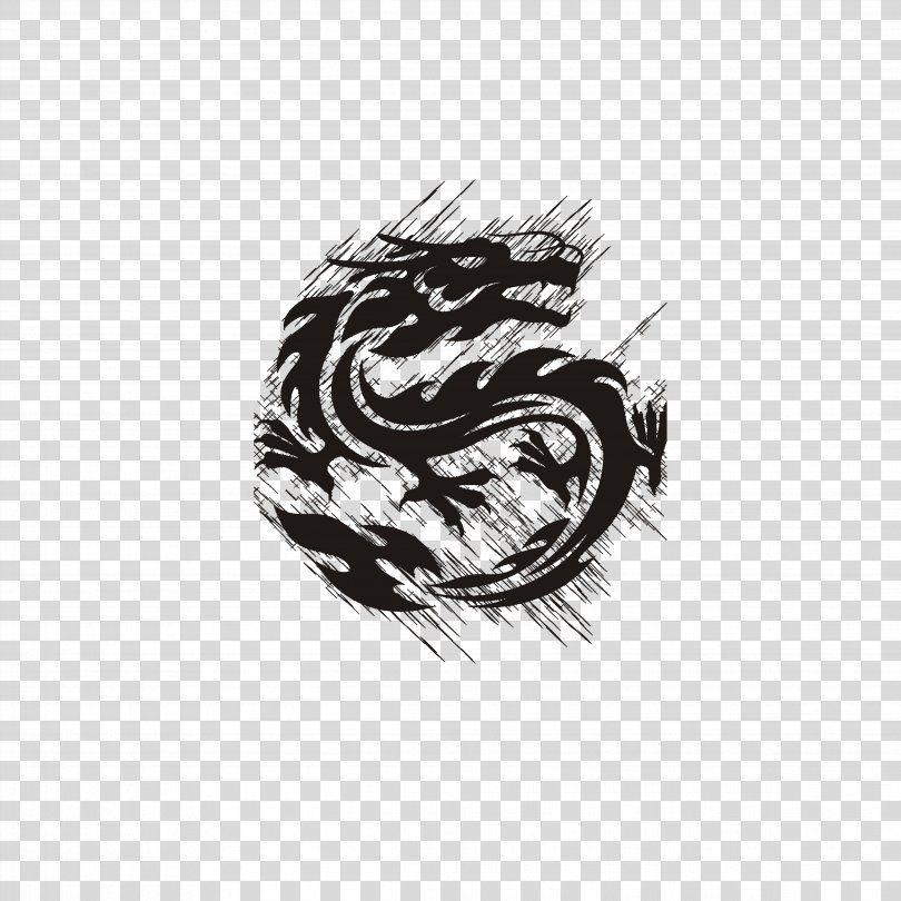 Dragon Logo Royalty Free Clip Art Dragon Png Dragon Black And White Chinese Dragon Decal Logo Free Clip Art Clip Art Dragon