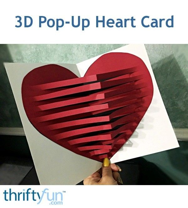 You only need a few pieces of coloured paper, scissors, and glue to make this beautiful pop-up card. You could