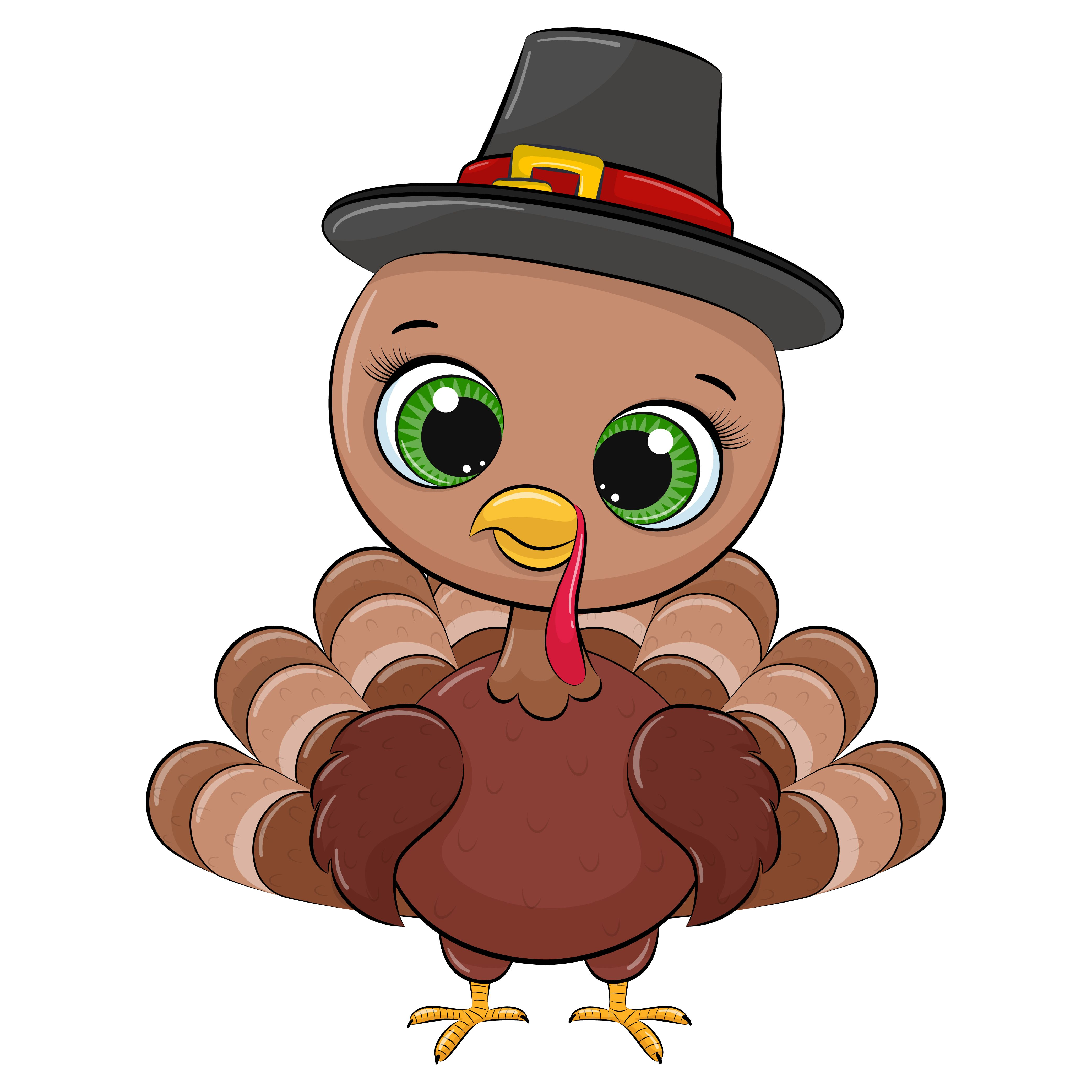 Happy Thanksgiving Clipart Turkey Clipart Png Eps Jpeg Etsy Happy Thanksgiving Clipart Happy Thanksgiving Thanksgiving Cartoon