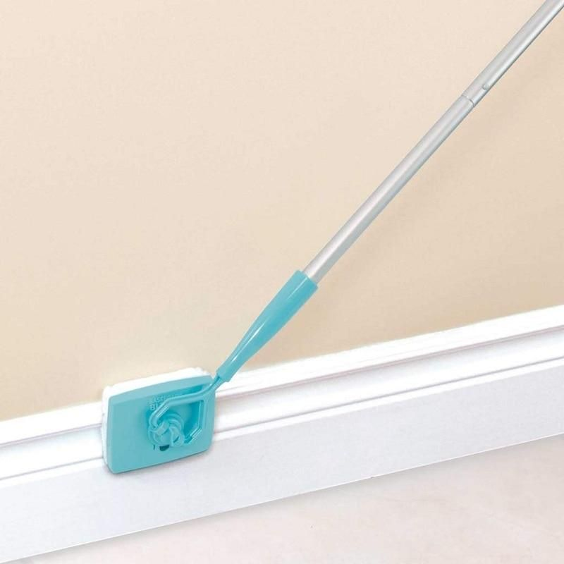White Baseboard Multi Use Cleaning Duster Shoppingnetwork Com Cleaning Hacks Toilet Cleaning House Cleaning Tips