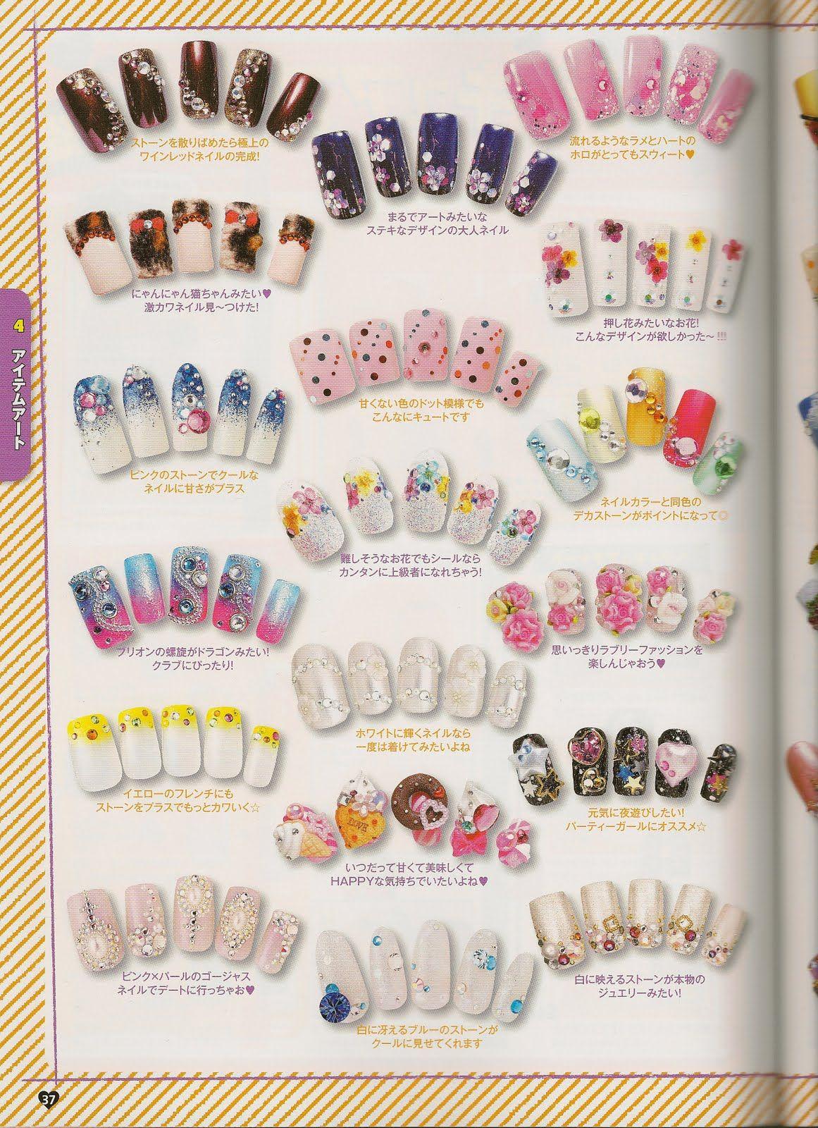 i\'m loving nail art! | Nail art | Pinterest | Japanese nails, Nail ...
