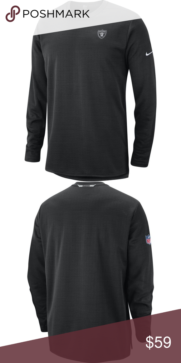 5fa1db8e NWT-Nike Oakland Raiders NFL On Field Gear NWT-Nike Oakland Raiders NFL On  Field Gear Men's Modern Long Sleeve Top Shirt Nike Shirts Sweatshirts &  Hoodies