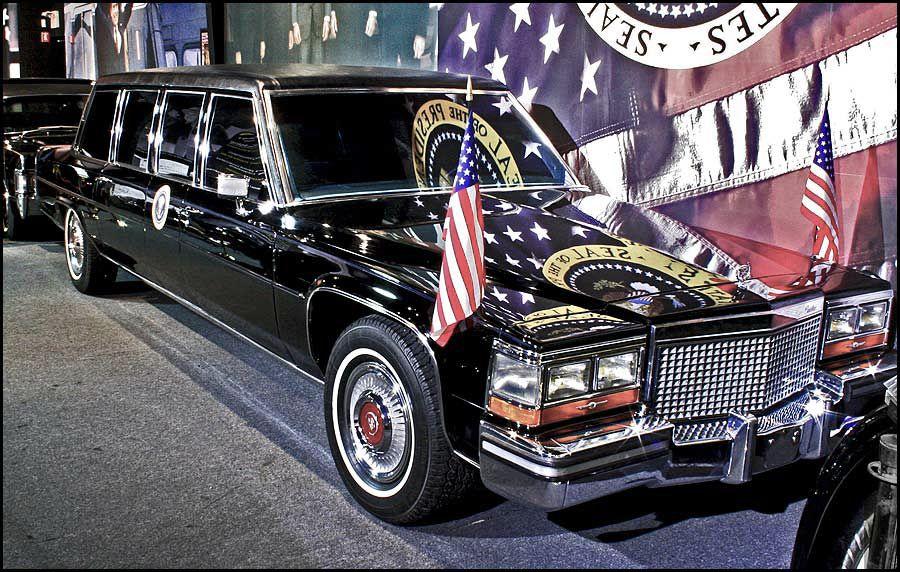 Ronald Reagan Limousine | Ronald Reagan - 1986 Cadillac Presidential ...