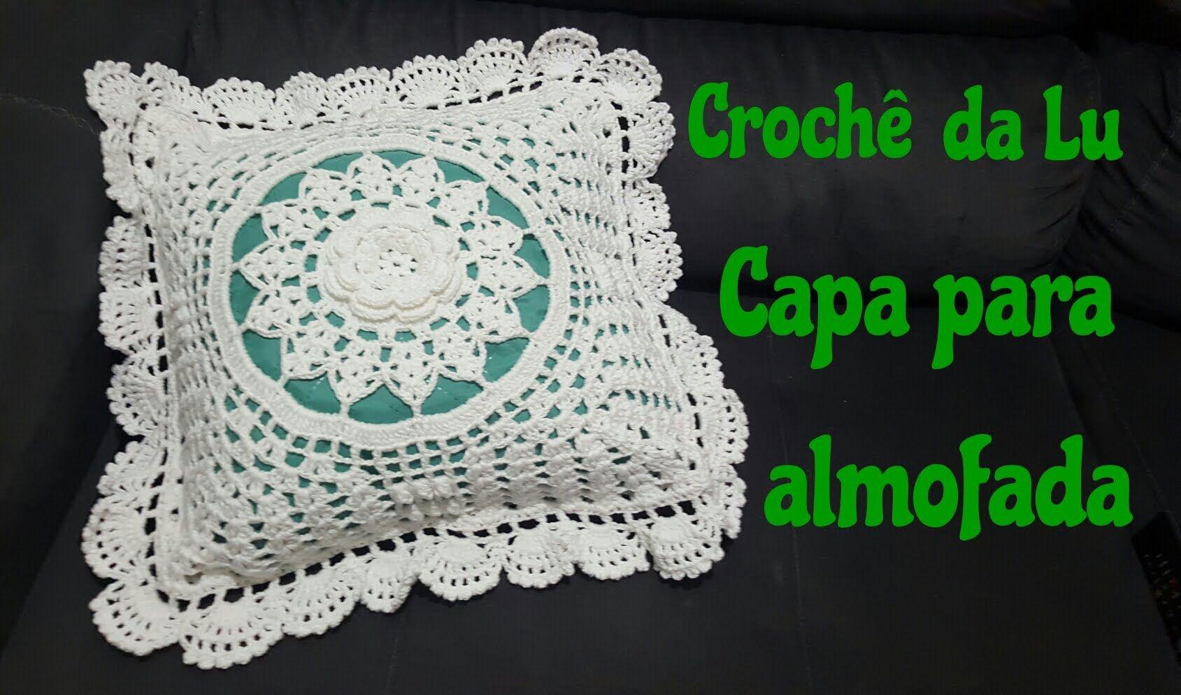 Capa De Almofada Em Croche Passo A Passo Com Imagens