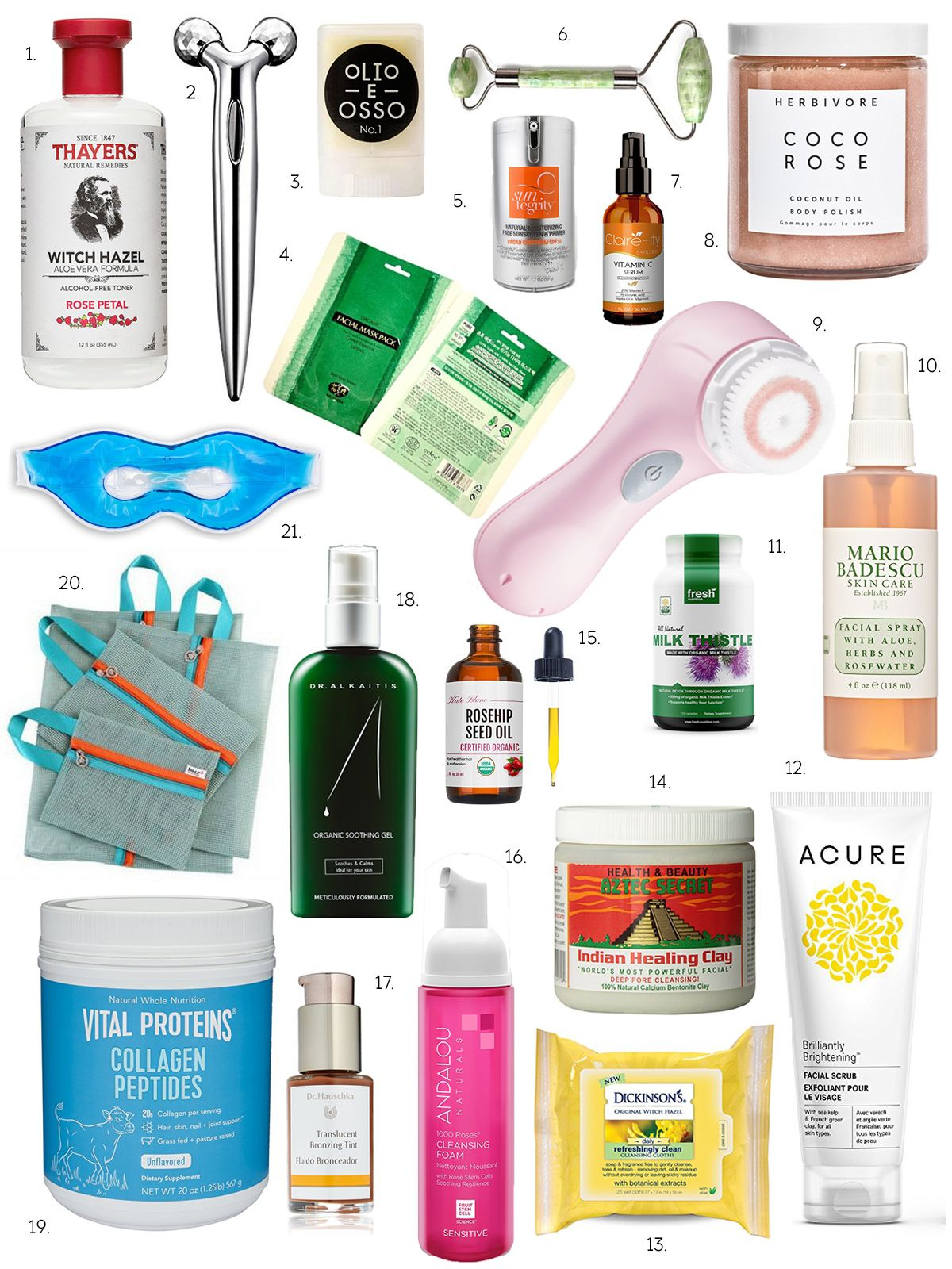 Favorite Clean Skincare Products From Amazon Honestlyfit Clean Skincare Skin Care Skin Care Steps