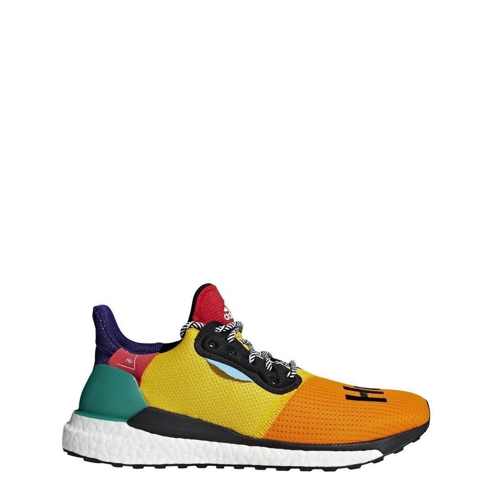 promo code 03226 ca2cb BB8042 Mens Adidas Solar Hu Glide M Pharrell Williams Running Sneaker -  Multi