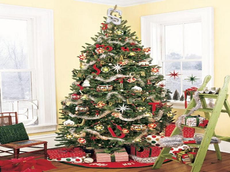 Decorated Christmas Trees - Google Search