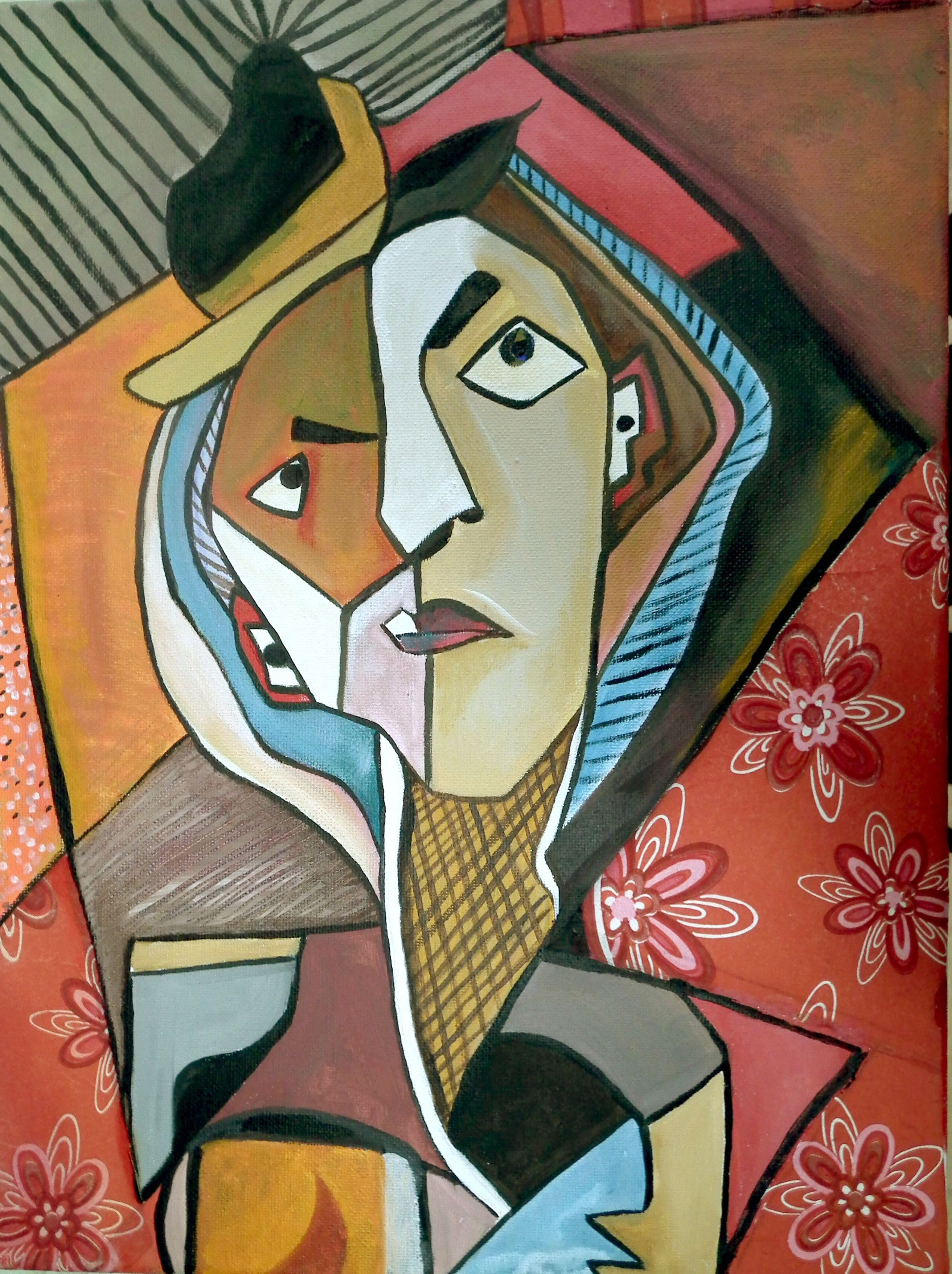 Pin By Lotus Educational Institute On Cubism Portrait
