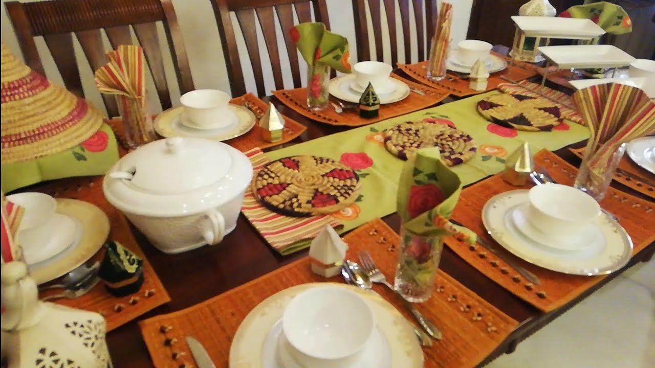 يومياتي برمضان جاو عندي الضيوف أسرار في المطبخ ترتيب تقديم Table Settings Table