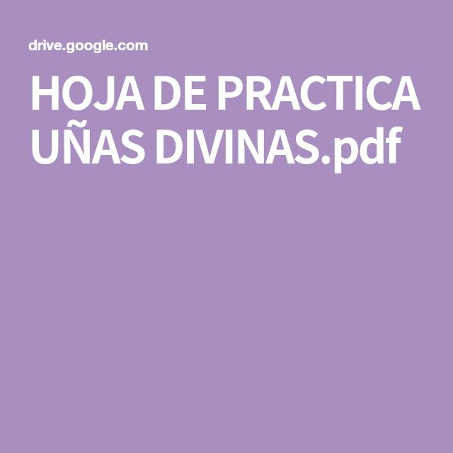 hoja de practica uÑas divinaspdf  malvorlagen vorlagen