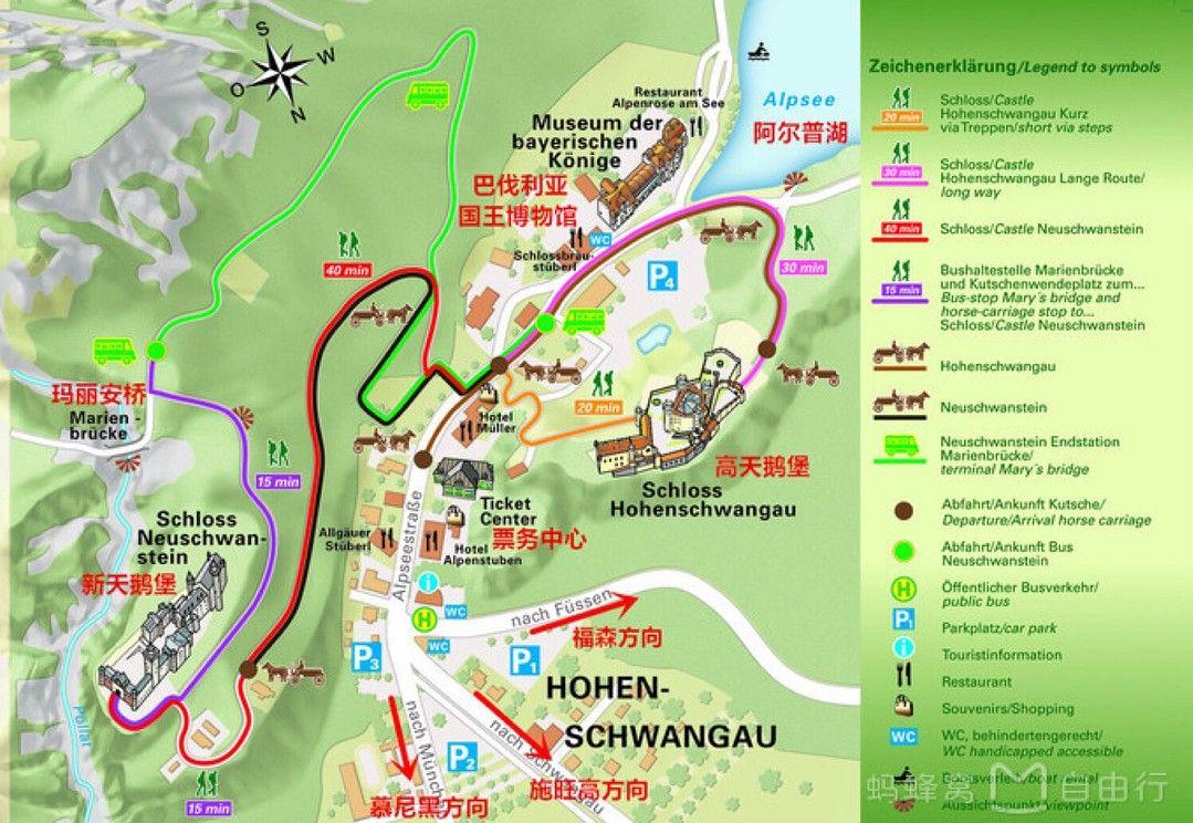 Pin By Hanan Neuschwanstein On Neuschwanstein Map In 2020 Hotel Schloss Neuschwanstein Abs