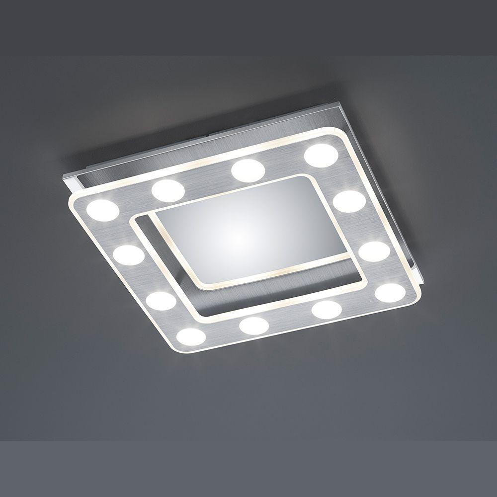 Led Deckenlampe Weiß Chrom Dimmbar