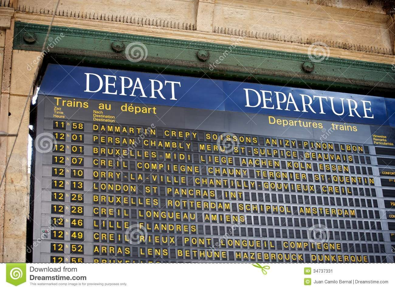 Paris Train Station Sign Google Search Train Departures Board Train Station