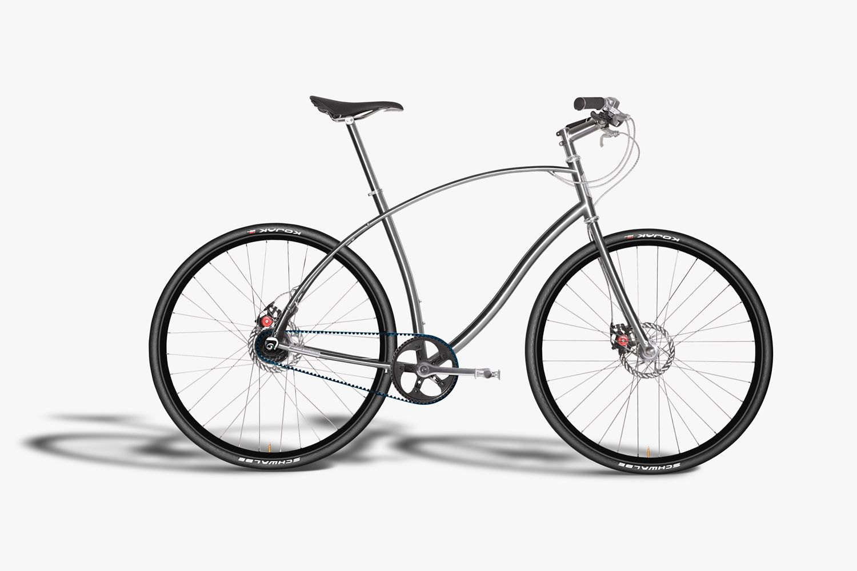 Paul Budnitz Bicycles Titanium No.1
