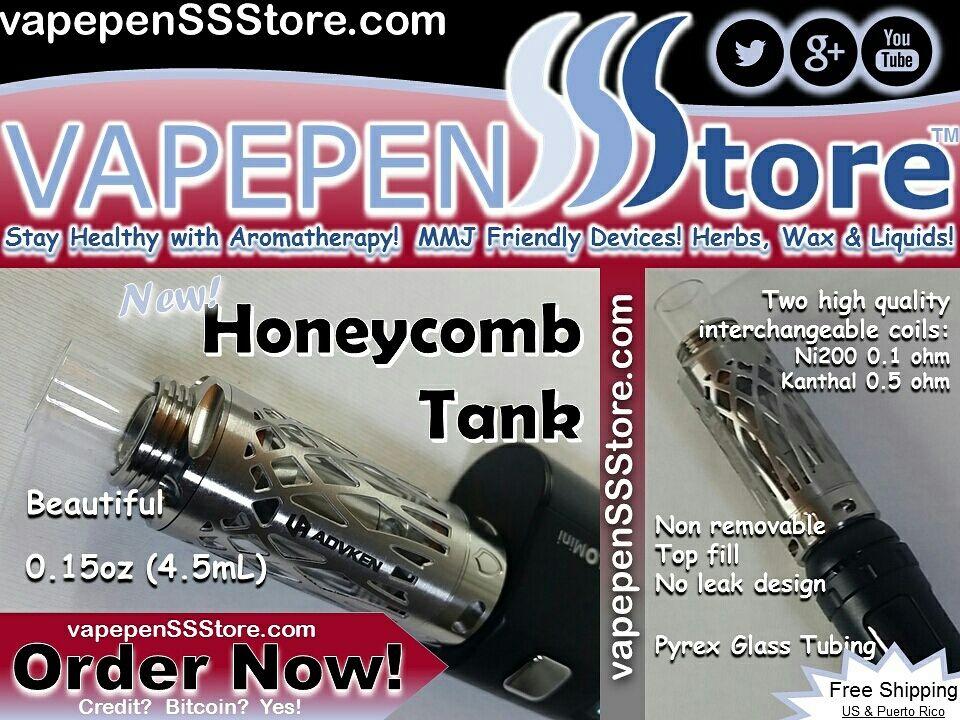 VAPEPENstore Honeycomb Tank by ADVKEN #Vaping #Vape #Vapor #VapeFam