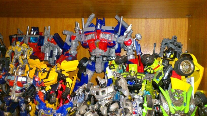 Mi colección de Transformers