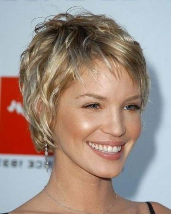 easy short hairstyles for curly hair Chic Ideas of Easy Short ...
