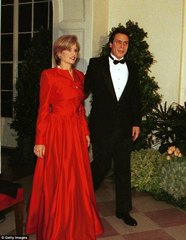 New York Governor Andrew Cuomo Never Paid Fair Share While Married Formal Dresses Red Formal Dress Married