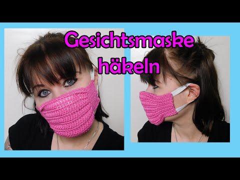 Gesichtsmaske häkeln - Romy Fischer Häkelanleitung
