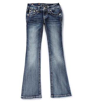 Miss Me Girls size 14 Cross-Pocket Bootcut Jeans | Dillard's Mobile