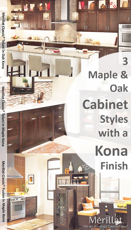 Merillat Cabinets Kona Finish | www.stkittsvilla.com