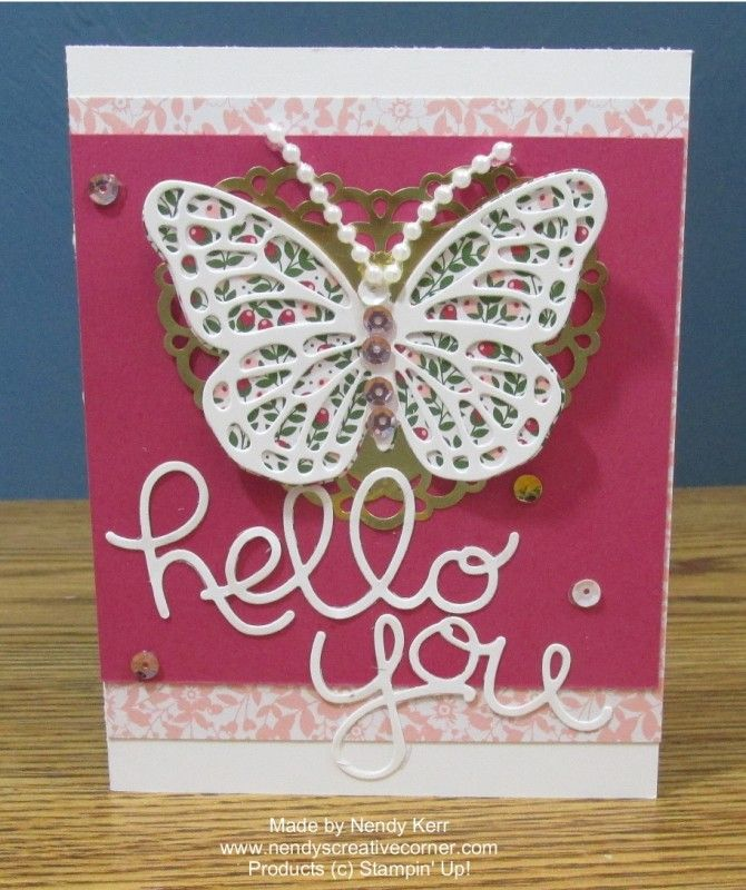 Love Blooms Embellishment Kit: Butterfly Cards