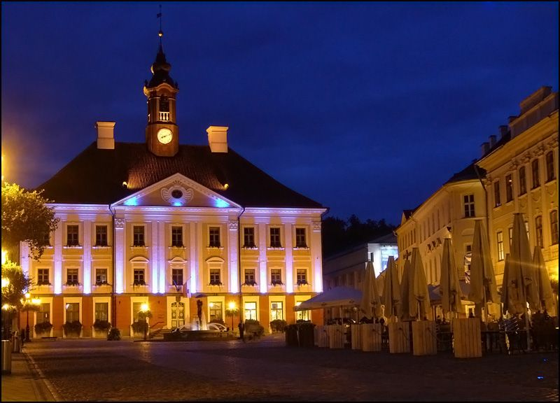 Town Hall Square, Tartu, Estonia, home of Tartu University. | Tartu,  Beautiful places in the world, Estonia