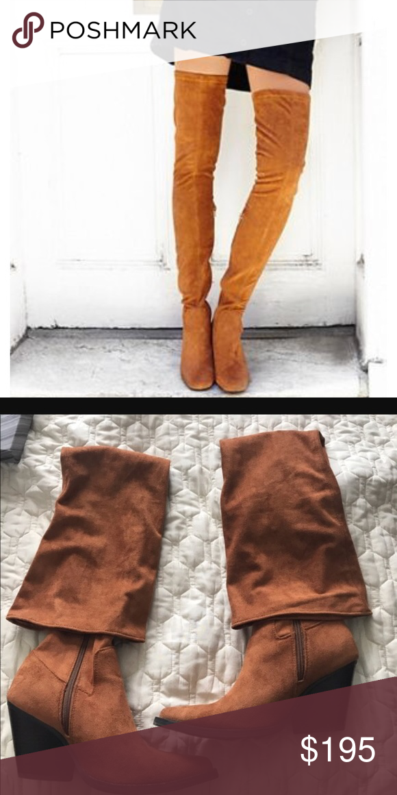 Jeffrey Campbell Gatlin Suede Over-the-Knee Boot XLbvll