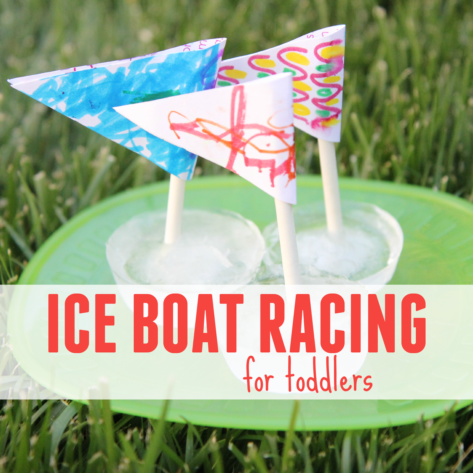 Ice Boat Racing For Toddlers