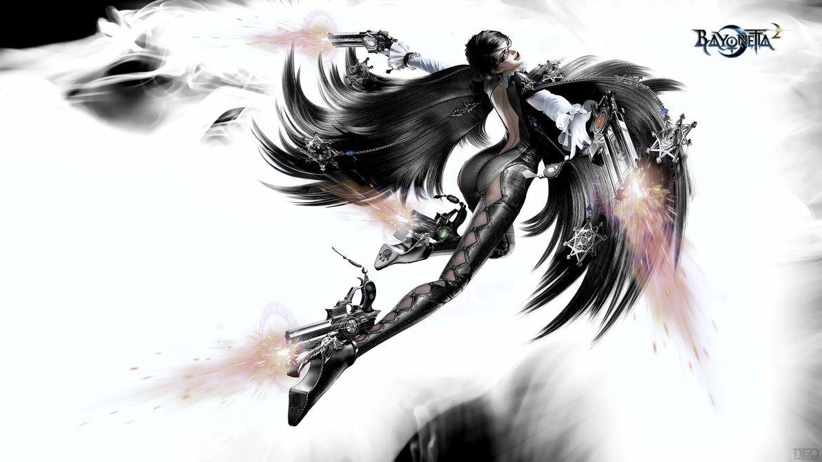 Bayonetta 2 4k By Neo Musume Deviantart Com On Deviantart Bayonetta Fantasy Women Art