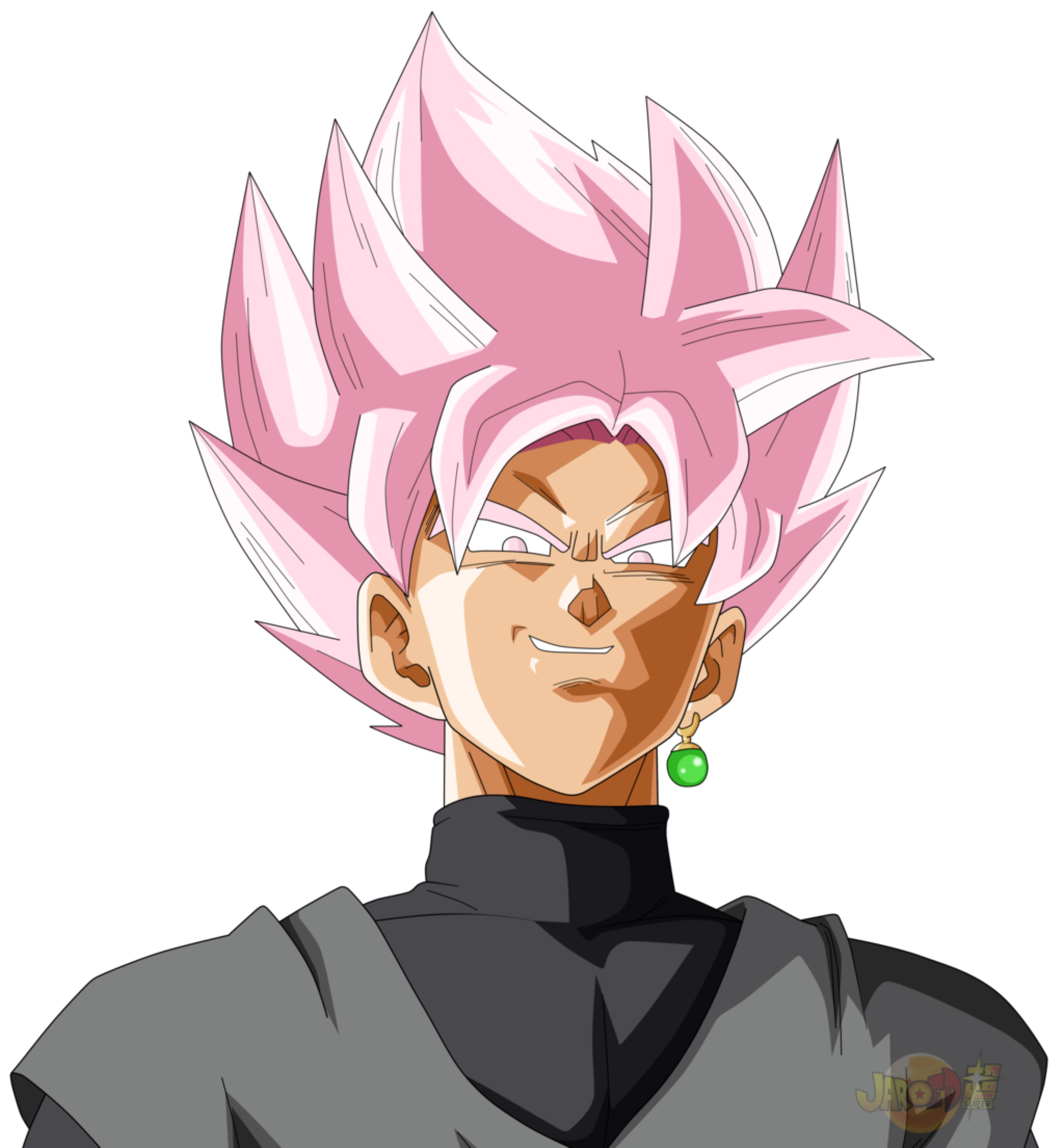 Goku Black ssJ Rose Face by jaredsongohan on DeviantArt