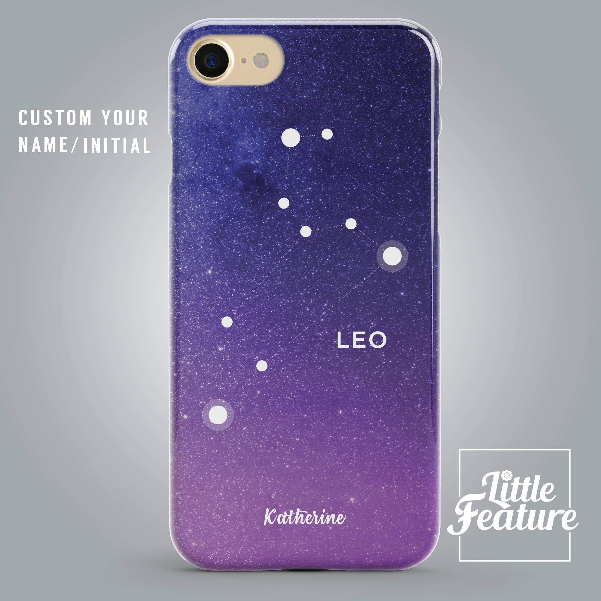 timeless design 0eaff de114 Zodiac Star Sign Phone case cover Leo phone case Apple iPhone 8 Plus ...