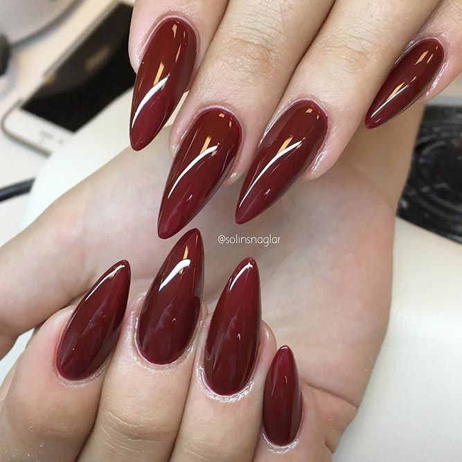 30 Hot Almond Shaped Nails Colors To Get You Inspired Try